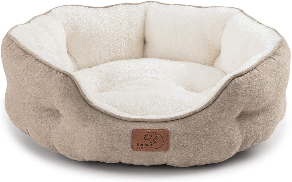 bedsure cat bed round for indoor cats