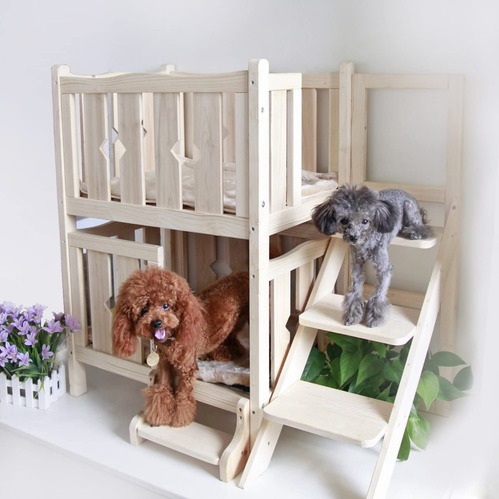 dog bed furniture with stairs