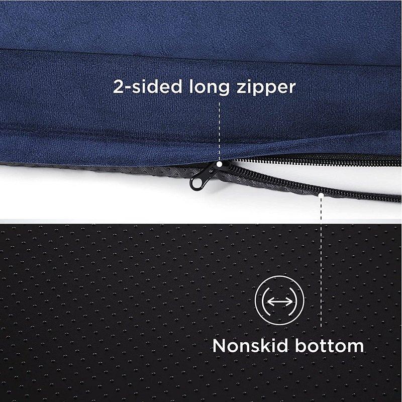 bedsure bottom wit zipper