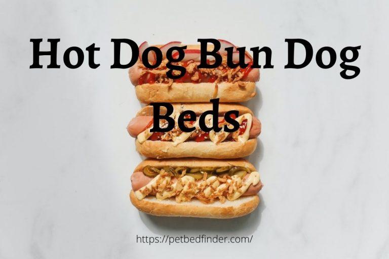 Hot Dog Bun Dog Beds