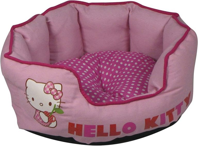 Pink Hello Kitty Cat Bed